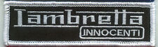 LAMBRETTA INNOCENTI PATCH WEISS (MBP 173)