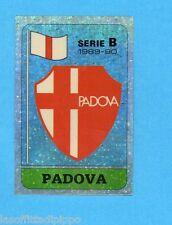 PANINI CALCIATORI 1989/90 -Figurina n.439- SCUDETTO - PADOVA -Recuperato