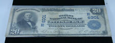 1902 First National Bank of PITTSBURGH $20 Note, E 6301