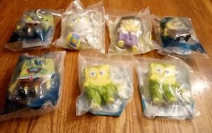 SpongeBob Squarepants Figure Lot | Burger King Toys (Sealed Bag) | Nickelodeon