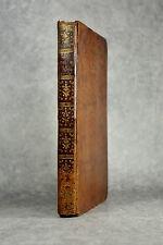 CHAPTAL. L'ART DE FAIRE, GOUVERNER, ET PERFECTIONNER LES VINS. 1801. OENOLOGIE