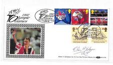 HH162 1992 OLYMPICS Benham Cover Signed *Liz McColgan* GB SCOTLAND RUNNING PTS