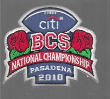 2010 Rosebowl BCS National Championship Vintage Patch - OHIO STATE vs OREGON