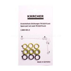 Genuine HD HDS EasyLock Karcher Pressure Washer Lance Hose O-Ring Set 28800010