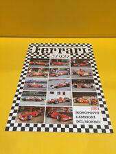 Ferrari Story Magazine 2001 - Monoposto Campioni del Mondo