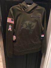 Women's Tampa Bay Buccaneers Nike Salute To Service Hoodie Sweatshirt Large