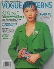 Vogue Patterns February March 2017 Spring Showstoppers Knitting FREE SHIPPING sb