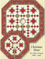 Christmas Stars quilt pattern by Perkins Dry Goods