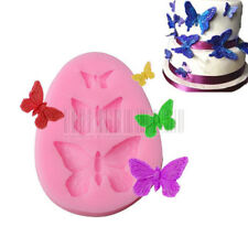 Butterfly Chocolate Candy Cake Silicone Mold Baking Pan Bakeware DIY Tool Mould