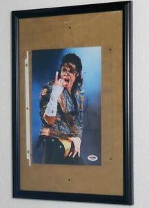 "The Gloved One Michael Jackson Signed Photo "" Moonwalker "" NO FRAME"
