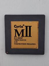 PROCESSEUR SOCKET 7 CYRIX MII-300GP 0.233 GHZ OCCASION  TESTE (2135)