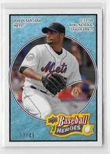 2008 Sea Green Johan Santana 37/49 New York Mets #108