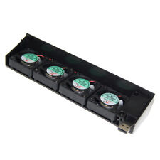 Quiet USB Cooling 4 Fan Cooler for Sony Playstation 3 PS3