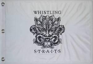 WHISTLING STRAITS (Embroidered) Logo GOLF FLAG