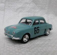 Norev 3 inches. Renault Dauphine Rallye .  echelle environ 1/60. Neuf en boite.