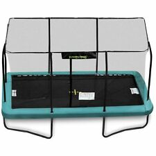 14ft x 10ft Jumpking Rectangular Trampoline with Enclosure (JKR1014G17)