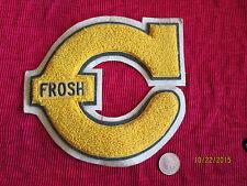 College or High School Letterman Jacket Letter C Only FROSH Patch Emblem
