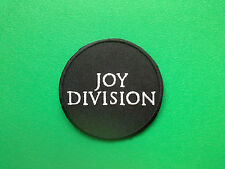 HEAVY METAL PUNK ROCK MUSIC SEW ON / IRON ON PATCH:- JOY DIVISION (a) IAN CURTIS