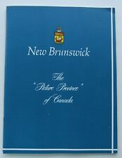 Travel Brochure For New Brunswick The Picture Province Of Canada 50's