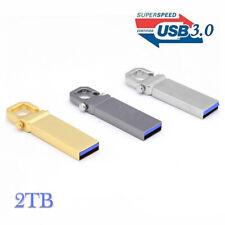 Flash Drives USB3.0 16GB 32GB to 1TB/ 2TB Metal Storage U Disk Memory USB-Stick