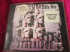 Melissa Etheridge I'm The Only One Island Rec CID579 4 trackPromo CD Maxi Single