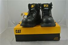 CATERPILLAR BLACK STEEL TOE CAP NEW ANKLE BOOTS UK 9 WORK/LEISURE