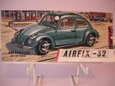 Airfix-Tête d'Instructions for early Volkeswagen de Lux Berline PLASTIC MODEL KIT