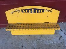 Rare Vintage Xcelite Tool Holder Wall Display