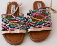 NWOT Steve Madden Tia Strappy Knot Kids SIZE  3 GIRL'S Sandal #4886 -AN1