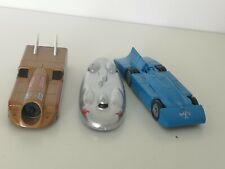 LLEDO 3 x LAND SPEED RECORD CARS THRUST 2, BLUEBIRD, RAILTON
