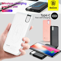 Baseus Qi Wireless Charger With10000mAh Power Bank
