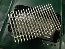 Go Anywhere Grill (WGA), Heat plate and Heavy duty grate