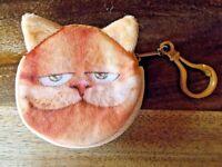 Geldbörse Portemonnaie Katze Cat - für alle Katzenliebhaber