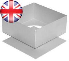 "Alan Silverwood Square Cake Pan with loose Bottom 11"" (28cm x 9cm)"