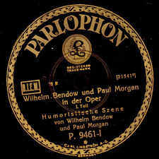 WILHELM BENDOW & PAUL MORGAN IN DER OPER; Super Kleinkunst f. Opernfans! G2962