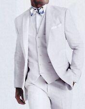 Tommy Hilfiger Blazer Size 46R Men White Cotton Suit Jacket Prom Summer Wedding