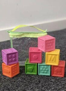 Little Tikes Soft Blocks Stacking Sensory Soft Bath Baby 6m+