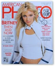 Britney Spears Signed Autographed American Photo Magazine 2003 GV907973