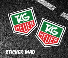 TAG HEUER Stickers High Quality 7cm F1 Classic McCLAREN Williams Ferrari Lotus