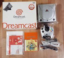 Brand New Dreamcast Metallic Silver Boxed Console HKT-5100 Sega Rare