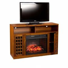 Southern Enterprises Narita Infrared Electric Fireplace Tv Stand