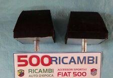 FIAT 500 F/L/R COPPIA TAMPONE FINE CORSA ANTERIORE PARACOLPO SOSPENSIONI GOMMINI