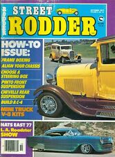 1977 Street Rodder Magazine: Frame Boxing/Align Your Chasisis/Steering Box/Pinto