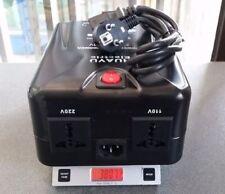 NEU SPANNUNGSWANDLER TRANSFORMATOR 230V AUF 110V 1000W 120 -230V ZX1000  3.8 KG
