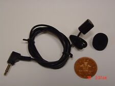 Clip on Lavalier Lapel Microphone for the Sony ICD TX650B Digital Voice Recorder