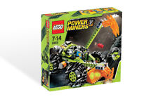 LEGO CLAW DIGGER 8959 Set w/ Box Power Miners Rock Monster Sulfurix 2x minifigs
