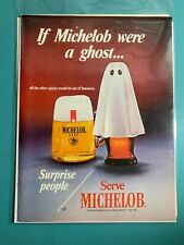 If Michelob were a ghost ~ Michelob ~ 1970 ~ Print Advertisement
