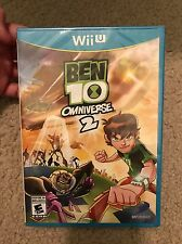 NEW/Sealed Ben 10 Omniverse 2 Nintendo Wii U Aliens Action Adventure Video Game