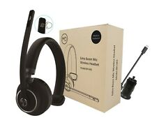 M3 Bluetooth Boom Mic Noise Canceling Headset for Car Truck Driver Office Desk