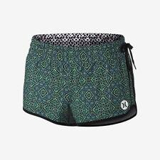 Hurley Womens Phantom Block Party Printed Beachrider Board Shorts Green Size M